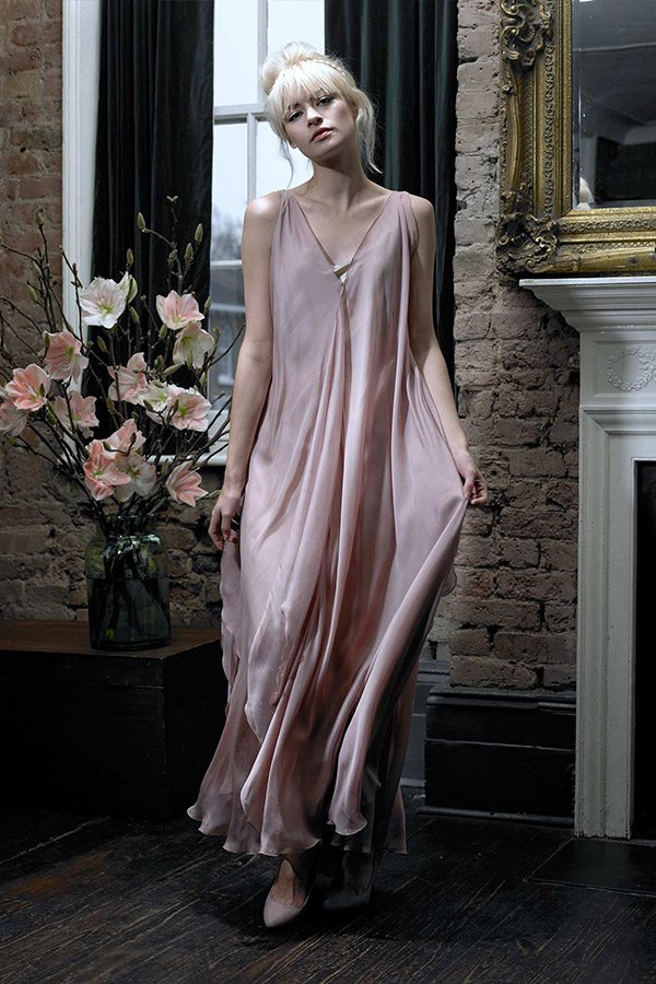 Cherry Williams London - Bridesmaid Dress, Blush Pink
