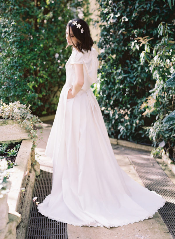 Annie Skirt & Pearl Top - Cherry Williams, Bridalwear London
