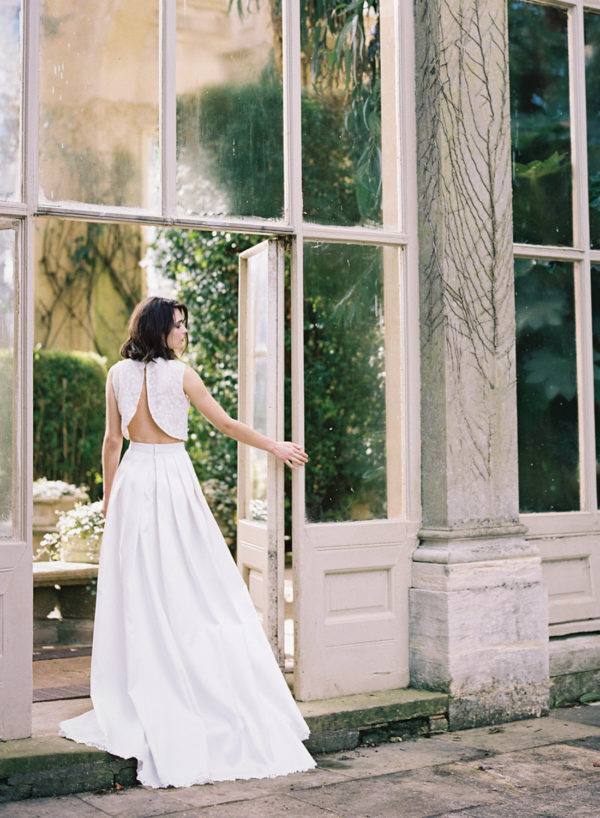 Annie Skirt & Top - Cherry Williams, Bridalwear London