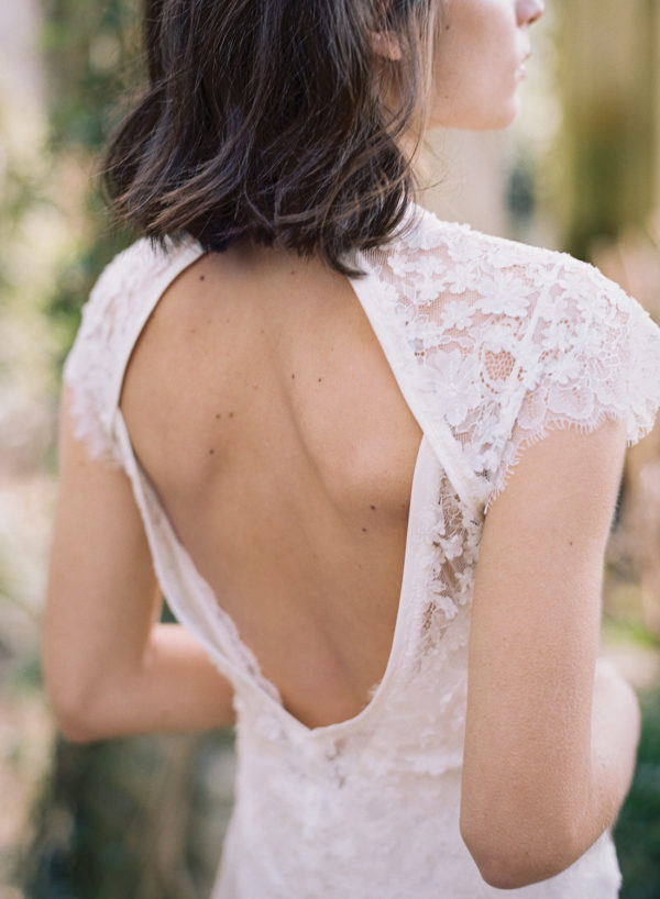 Ivy Wedding Dress, Back Detail - Cherry Williams, Bridalwear London