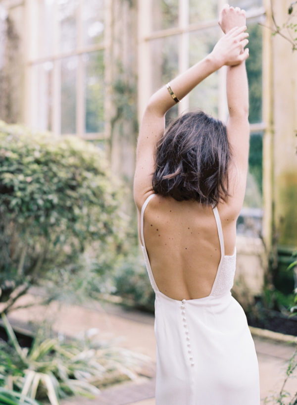 Liv Wedding Dress, Back Detail - Cherry Williams, Bridalwear London