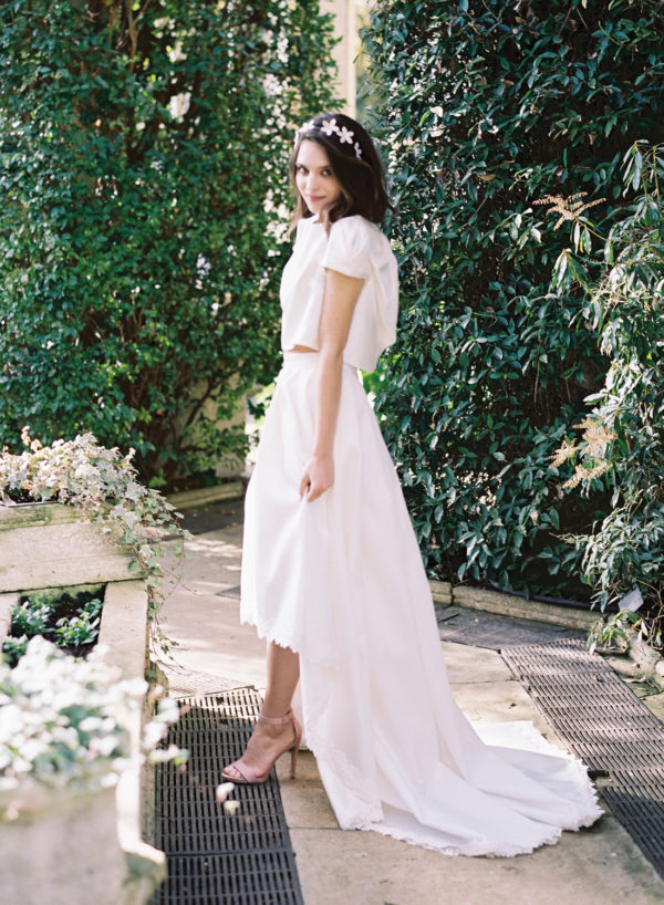 Pearl Top & Annie Skirt - Cherry Williams, Bridalwear London